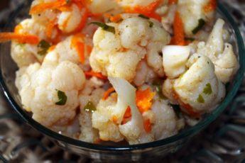 Рецепт вкуснейшей цветной капусты «по-корейски». Больше не захочется покупной капусты!