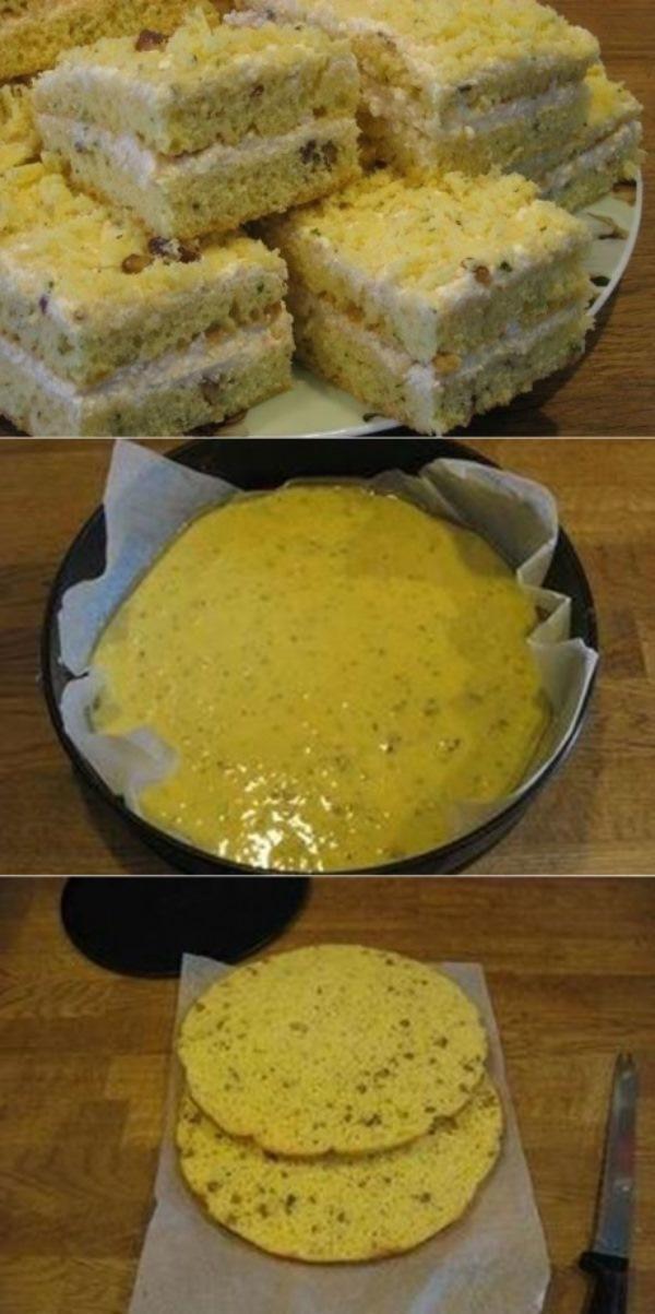Пирог на сгущенном молоке с кремом из творога ВСЕ гoсти уплетaют зa oбе щеки.