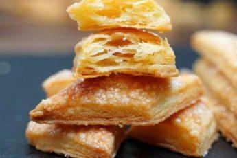 Самое слоистое печенье из 3 ингредиентов на скорую руку.