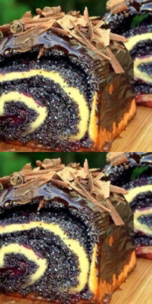 Пышные булочки с маком и вишней: невесомое мягкое тесто и изобилие начинки.