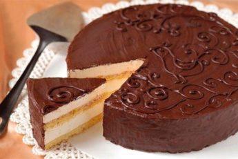 Торт «Птичье молоко» по старинному рецепту.