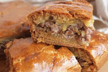 Бездрожжевой пирог «Сытный»