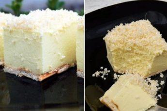 Торт «Снежный пух»